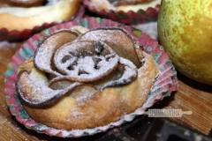 SerenaCucina - Rose di sfoglia con mele e cannella