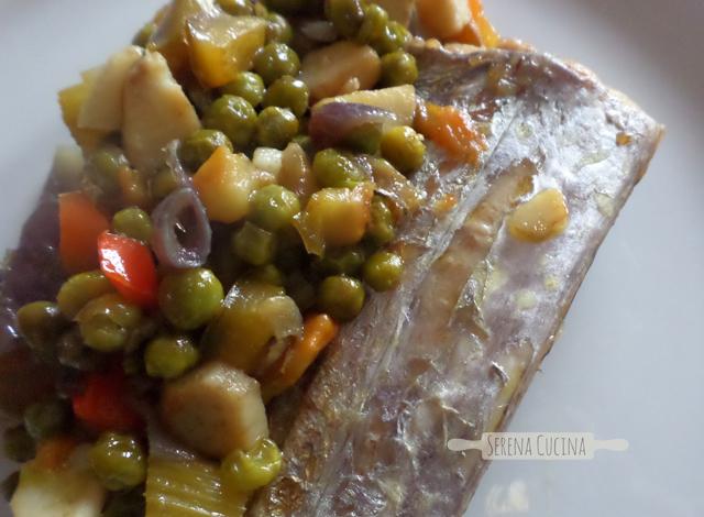 SerenaCucina - Trancio di spatola con verdure saltate