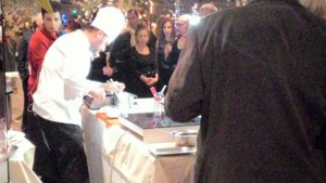 showcooking Chef Stefano Marzetti