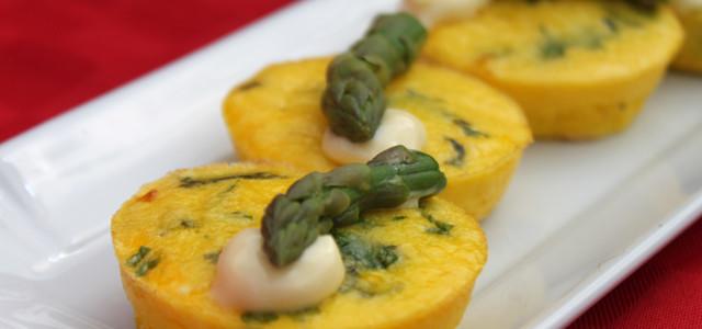 Frittatine al forno con erbe aromatiche