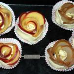 SerenaCucina - Rose di sfoglia con pere e cioccolato e mele e cannella