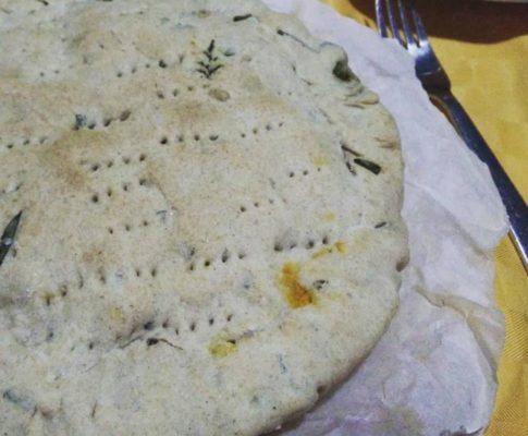 Pizza rustica con pasta matta