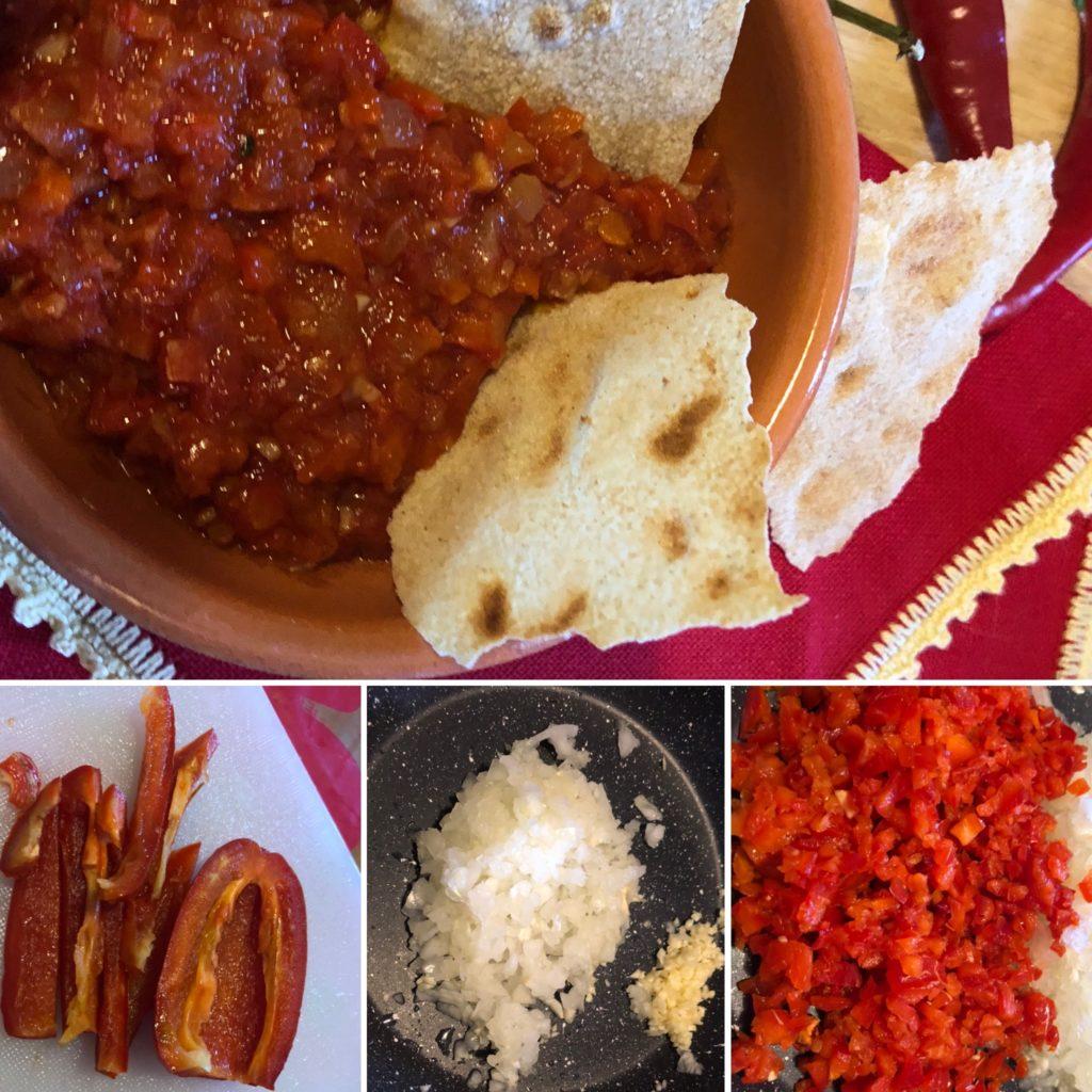 SerenaCucina - Salsa di peperoncino preparazione